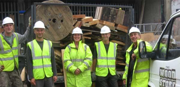Staff and volunteers at Brighton enterprise