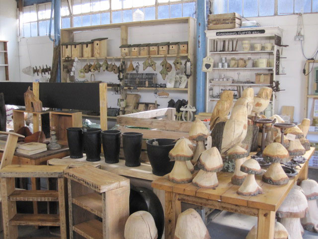 Our stores sell all kinds of wooden and DIY goods - come in and have a browse