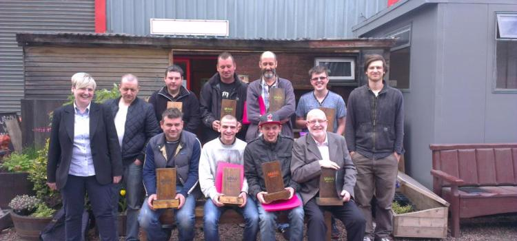 First round of trainees graduate Making Wood Work programme