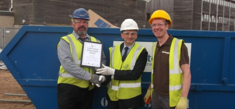 Wates breaks 1000th tonne