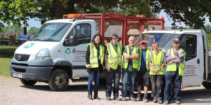 How The Aldingbourne Trust helped save 300 tonnes of wood waste from landfill