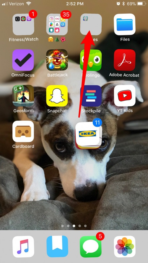 How to move multiple apps at once with iOS 11 on iPhone