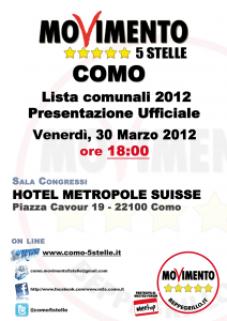 poster presentazione 2012