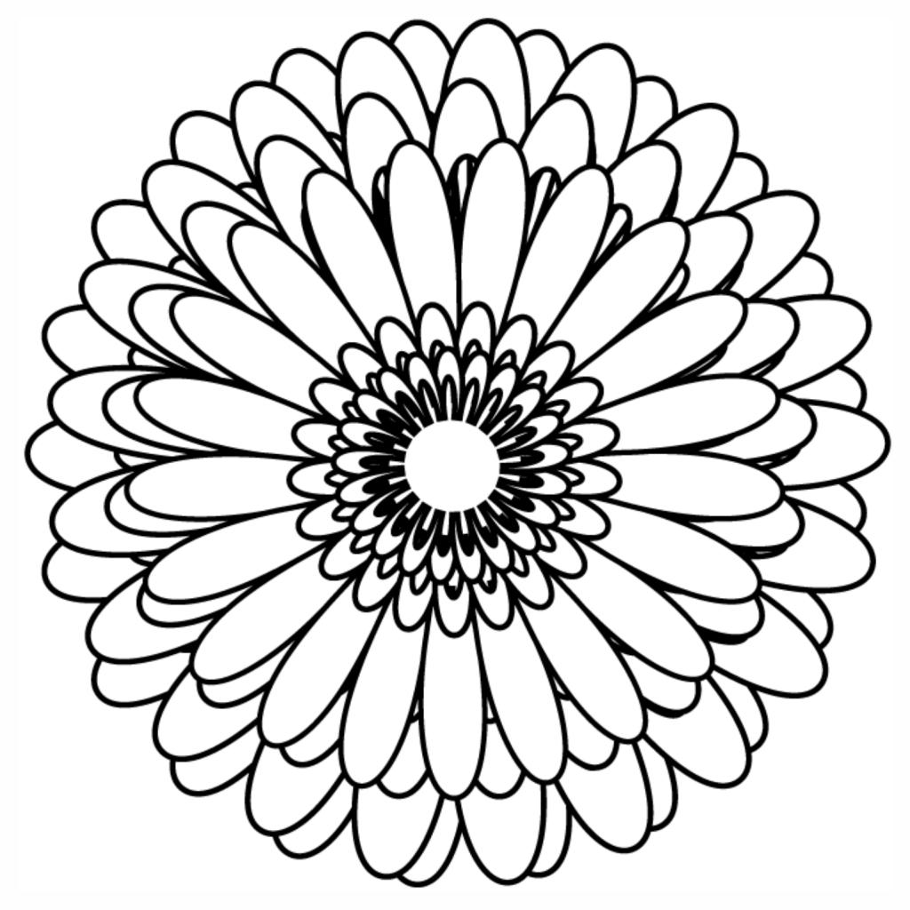 Dessa maneira de fato você poderá criar uma atividade que vai deixar todo mundo maravilhado com os desenhos de unicórnios. Flores para Colorir e Imprimir - Muito Fácil - Colorir e