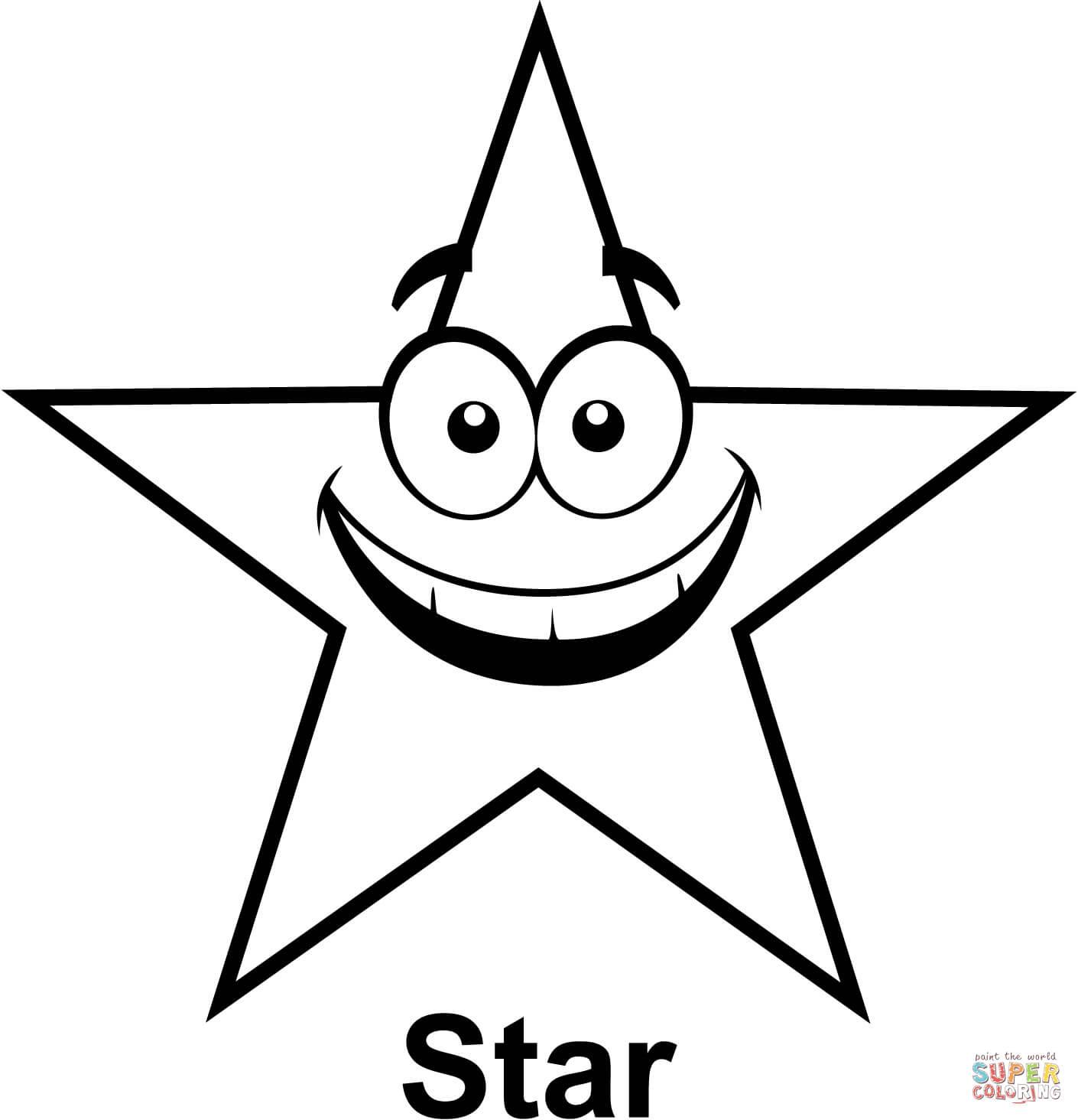 Estrela Para Colorir E Imprimir Muito Facil Colorir E Pintar