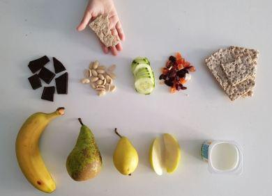 Snacks para el recreo