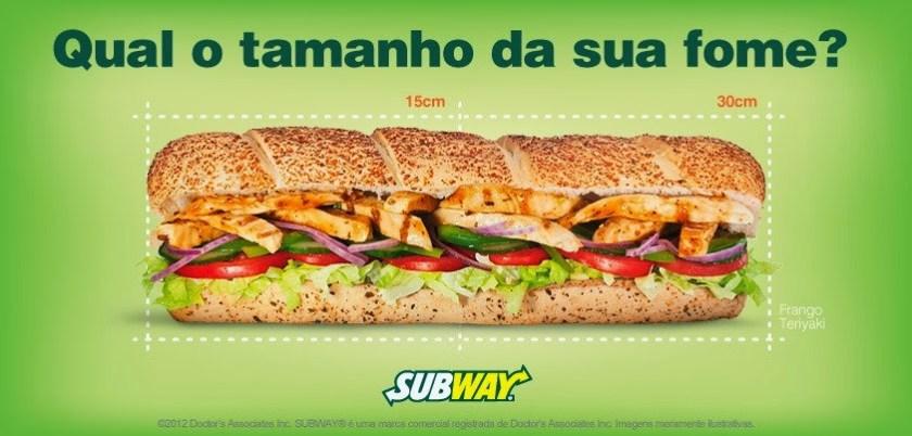 Barato do dia subway