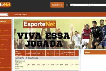 esporte net consultar bilhete