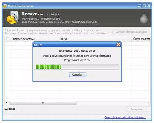 Screen recuva