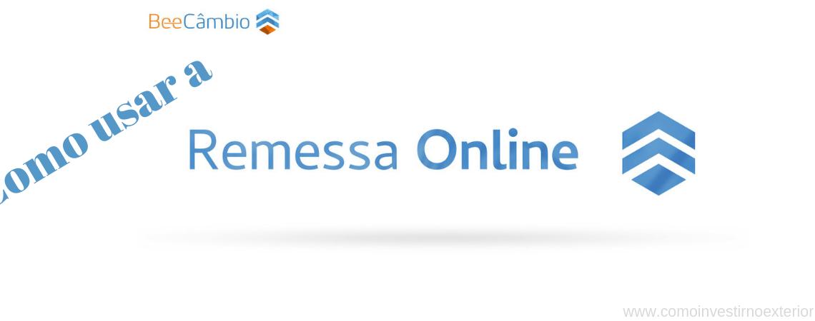 Como usar a Remessa Online