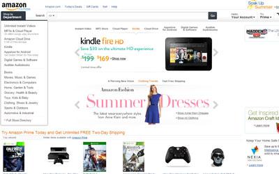como comprar en amazon pagina principal