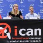 Premio Nobel de Paz 2017 fue dado a La Campaña Internacional para Abolir las Armas Nucleares