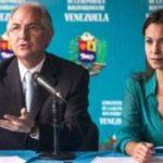 """Antonio Ledezma y María Corina Machado calificaron de """"locura y burla"""" el diálogo entre la oposición y el régimen chavista"""
