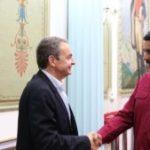 Tras la suspensión del diálogo, José Luis Rodríguez Zapatero le pidió a la oposición venezolana suscribir el acuerdo con la dictadura de Maduro