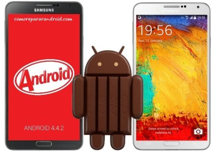 reparar problemas en android 4.4.2 kitkat