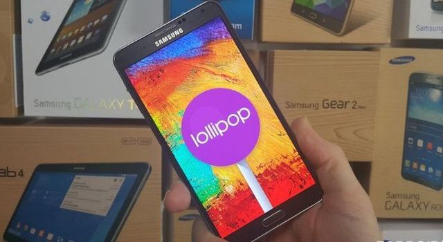 Actualizar Galaxy Note 3 a Android Lollipop