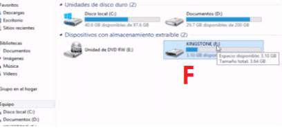 reparar recuperar archivos en windows con virus usb