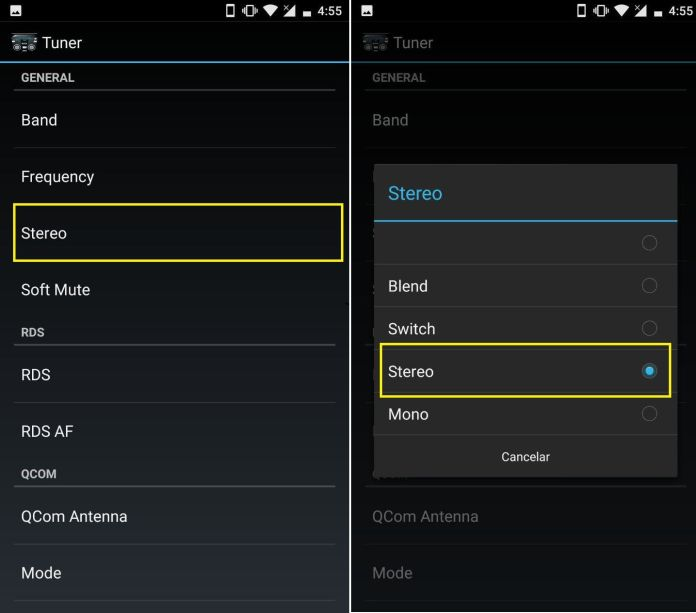 activar radio fm android sin internet sin wifi free