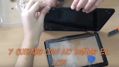 android 5 reparar pantalla tablet android