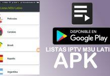 descargar aplicacion listas iptv m3u 2018 latino actualizadas free