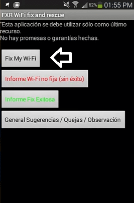 como reparar wifi android 7 fxr wifi fix and rescue