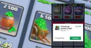 comprar gemas clash royale con cuenta play store diferente