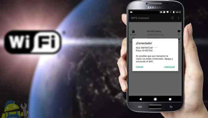conectarse a cualquier wifi infinitum desde android