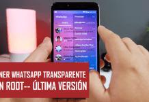 descargar whatsapp transparente apk gratis android 2018