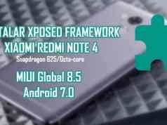 instalar xposed framework android 7 xiaomi redmi note 4