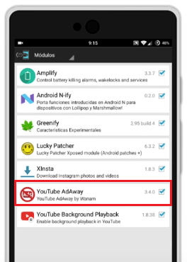 mejores modulos xposed android 2017 youtube adaway