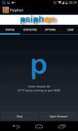psiphon internet gratis android