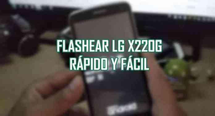 aprende revivi flashear actualizar lg x220g