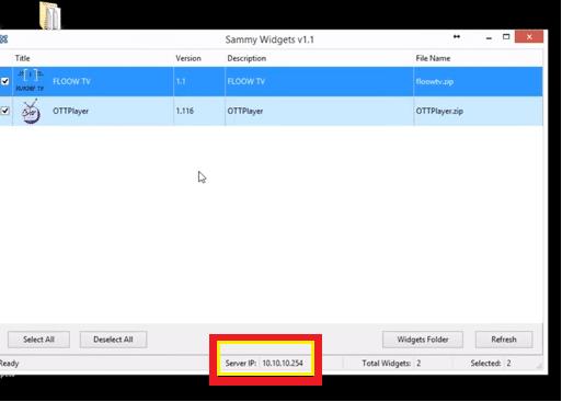 sammy widgets v1 instalar y descargar play store smart tv