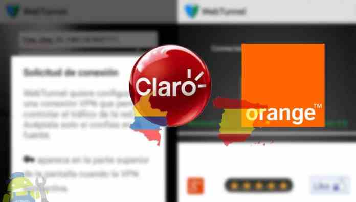 tener internet gratis claro orange web tunnel slowdns ak