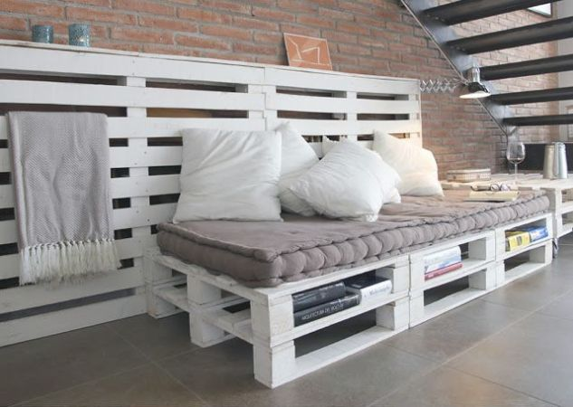Muebles hechos con palets paso a paso for Ideas hacer muebles con palets