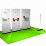Duo Set banner - Roll up retractable - comotion.ca