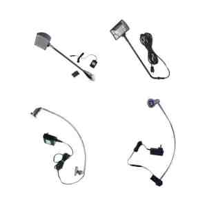 Booth Accessories - Halogen & LED Lighting