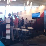 Kiosks with panoramic displays 1