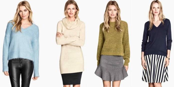 Jerséis y faldas H&M