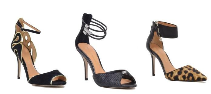 Zapatos en color negro de fiesta