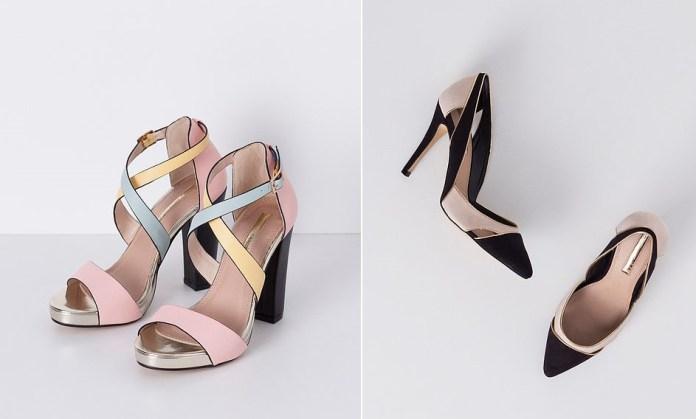 Zapatos de tacón de Blanco