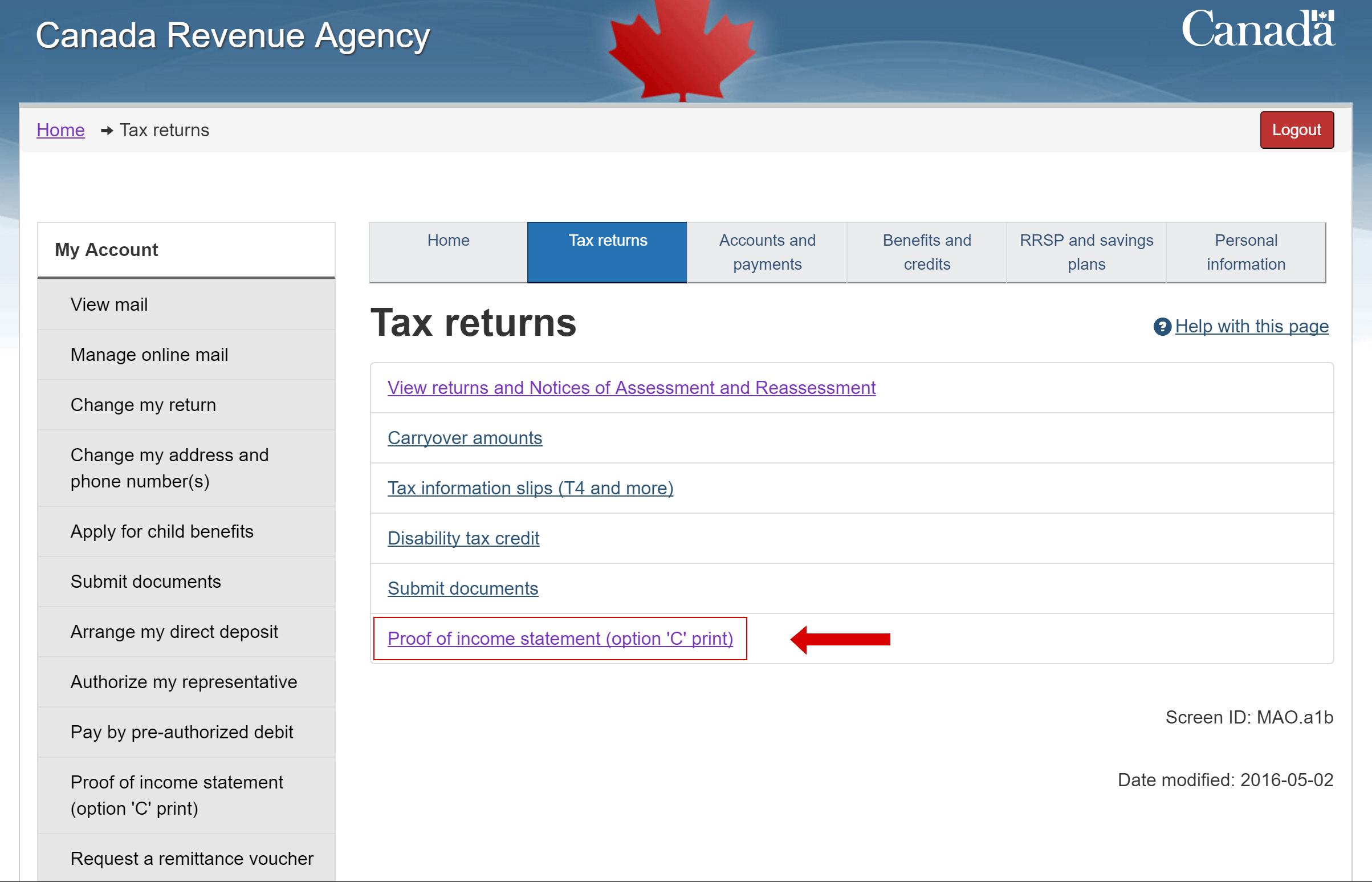 cra 2016 income tax guide