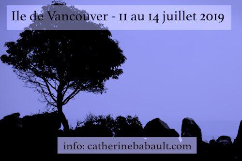 Atelier photo de nature sur l'île de Vancouver
