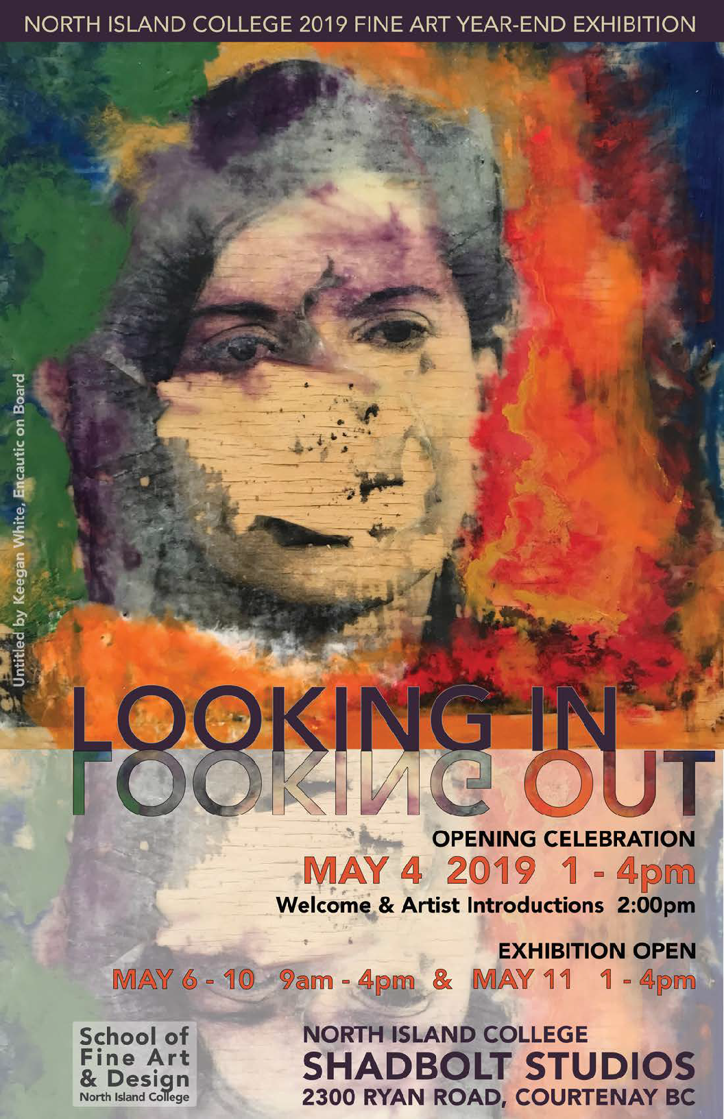 NIC Fine Art Year-end Exhibition: Looking in / Looking out (Opening Reception)
