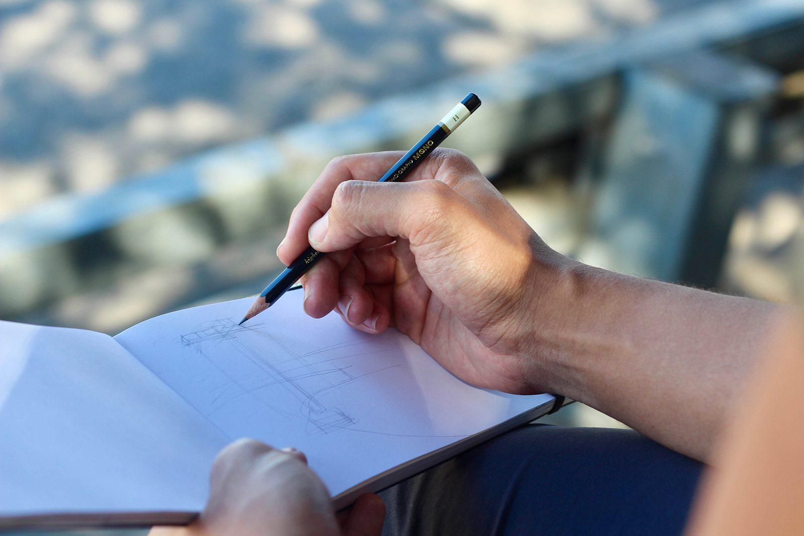 Drawing En Plein Air