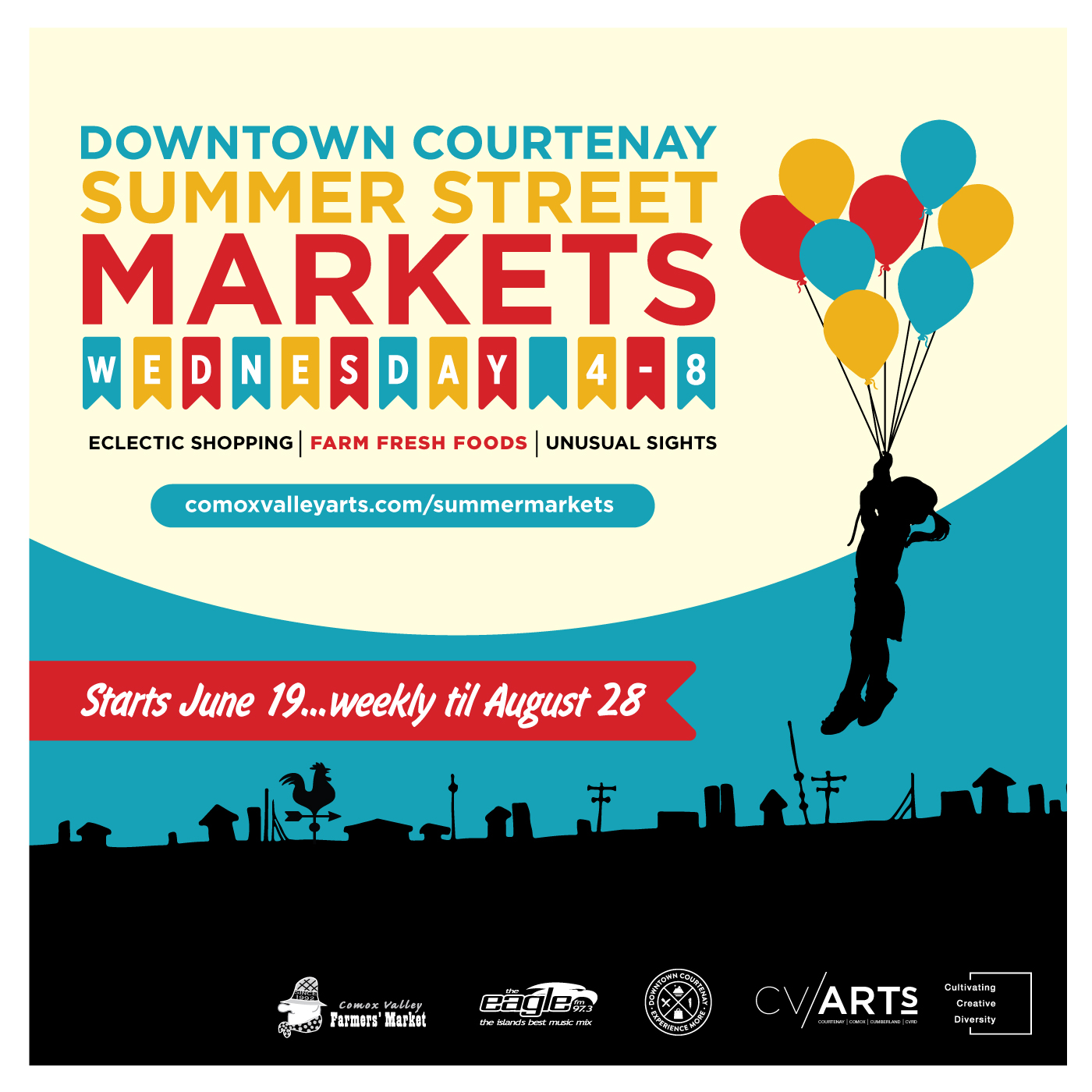 Downtown Courtenay Summer Street Market!