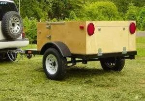 Camping Trailer Build at home by Compact Camping