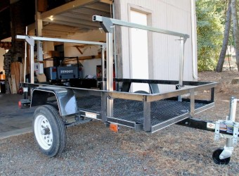 Trailer Rack Steel Tubing