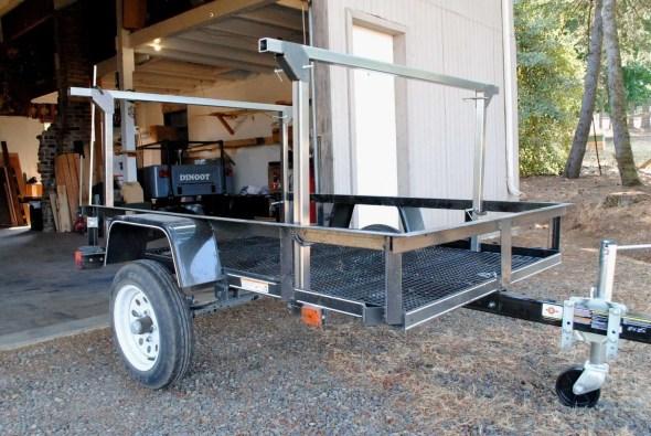 Trailer Rack Steel Tubing