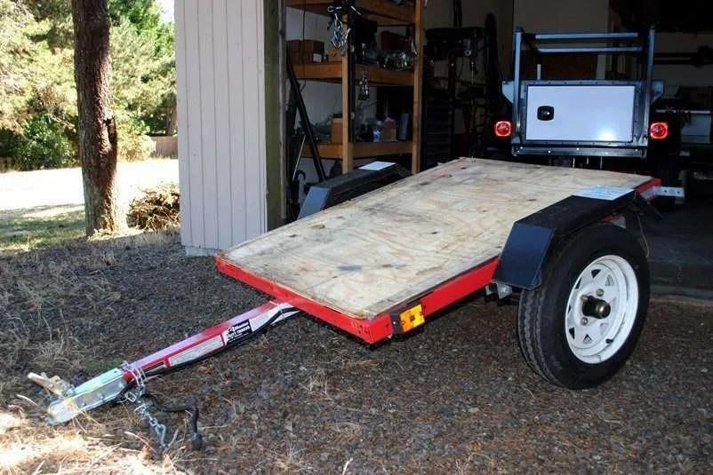 Kayak Trailer build under $500
